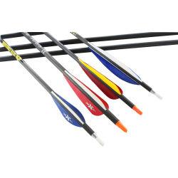 Pijlen van het Boogschieten van Camo van de Sporten van maart de In het groot 3K de Pijlen van de Koolstof van 0.165 Duim ID4.2