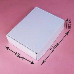 Самолет белого цвета Express упаковки, пошив одежды нижнее белье, квадратные тип плоские коробки усиленная Super жесткий три слоя картона.