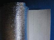 Tissu de fibres de céramique avec enduit d'aluminium