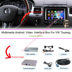 Android Navigation Box Video Interface Box Voor Vw Touareg 8