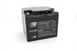 12V 40ahはUPSのスクーターAGMの完全なゲル蓄積装置VRLA産業SMFの高速の深いサイクルの再充電可能な長い生命記憶によって密封される鉛酸SLA電池をしのぐ