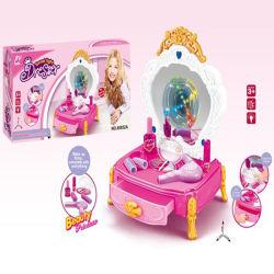 Minimädchen täuschen Schönheits-Spielwaren-Plastikaufbereiter-Set-Spielzeug vor (10250404)