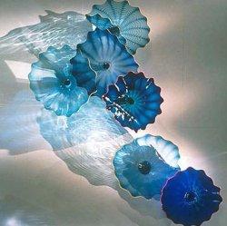 Placa de Cristal Cristalina para la Decoración Artística de la Pared