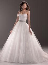2016 Real Smaple 100% Spaghetti Strap Inbroidary Wedding Gown Mermaid Robe de mariée
