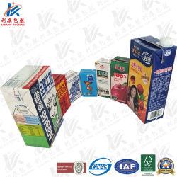 Бумага/Al/PE жидких продуктов асептической упаковки