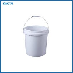 Commerce de gros 10L de la peinture de seaux en plastique blanc/Pail/baril/tambour avec couvercles