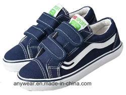 Garoto de mídias físicas Girl Calçado calçado desportivo de lona de crianças (458)