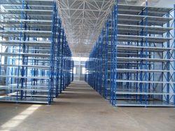 Entrepôt de stockage à long métal span 4-Tier unité de rayonnages
