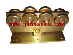 Registrare la rotella d'acciaio del carrello del cancello di scivolamento