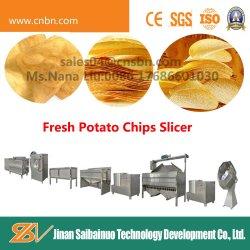 Norme ce puces de pommes de terre fraîches trancheuse semi-automatique