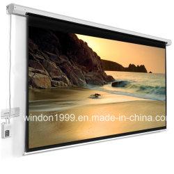 Экран проектора, электрический домашнего кинотеатра проекционный экран с высоким качеством