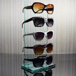 Het acryl Rek van de Opslag van het Oogglas van de Vertoning Eyewear Vrije Bevindende