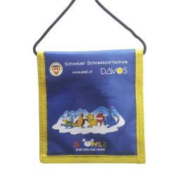PVC ID de carte cadeau de carte de crédit cou Wallet