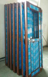 소라 레드 월넛 PVC/UPVC 욕실 도어