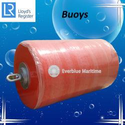 Attracco cilindrico dell'ancoraggio che pesca il cuscino ammortizzatore marino della barca/che fa galleggiare la boa di attracco
