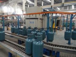 12kg 15kg 33kg 45kg linha de produção de cilindros de gás GPL