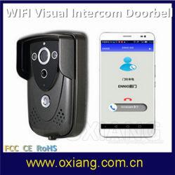 Vidéo de sécurité d'accueil Door Phone regardent et écoutent en temps réel Doorphone WiFi