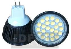Refletor LED MR16 SMD preto 12V 5W