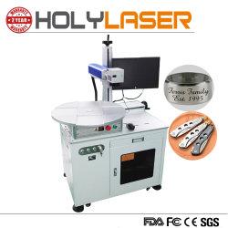 machine à gravure laser à fibre rotatif pour couteau cuillère Fourchette de prix
