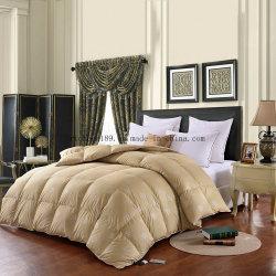 Della tessile del cotone 95% dell'anatra Comforter bianco domestico 100% giù