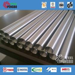 La norme DIN 17456 RH Tuyau en acier inoxydable sans soudure