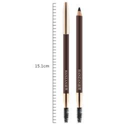 시더 우드는 오래가는 방수 색상의 연필을 눈썹으로 치켜세요