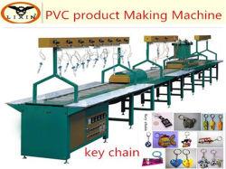ماكينة تصنيع أوتوماتيكية لسلسلة مفاتيح PVC ناعمة