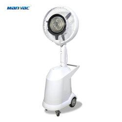 Commerce de gros ventilateur de brumisation brume de l'eau refroidisseur à air avec des roues