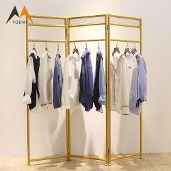 La Chine le fournisseur de vêtements de luxe commerciaux en métal de présentoir