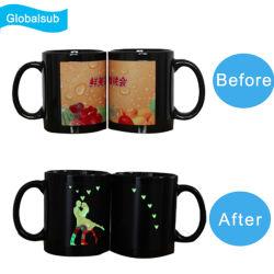 Picture in Picture luminoso sublimación Taza de cerámica en el precio al por mayor