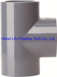 Plastique de haute qualité du raccord de tuyau en PVC pour l'industrie de l'ASTM Standard sch80