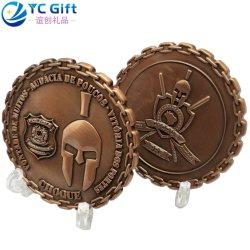 La Chine Maker Custom logo 3D'Art en métal les valeurs de l'histoire de collectionneurs Défi Coin US Military Award de la Marine Corps des marines de l'application Pièces Médaille personnalisé