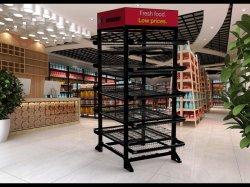 5 het Verhandelen van het Rek van de Vertoning van het Suikergoed van de rij de Commerciële Vertoning van het Rek