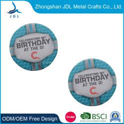 Лучшие продажи дешевой цене Логотип пустые металлические печати никелевое покрытие имя , Тин контакт значки для сотрудников (50)