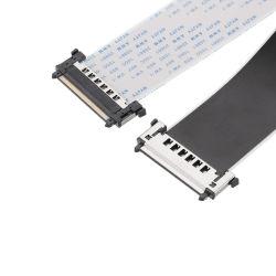 JaeのコネクターのLvdsのフラットケーブルが付いているAwm 20706 105c 60V VW-1 FFCケーブル