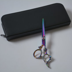 Outil de coupe de cisaillement de produits capillaires de tondeuse à cheveux Ciseaux de coiffure