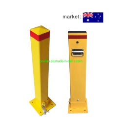 Het Australische Slot van de Meerpaal van het Parkeren van het Staal van de Positie van de Auto van het Type Vouwbare Hand