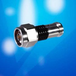 2 дб фиксированный аттенюатор, N Разъем N женщин Anodizedaluminum черного цвета с вентилятором корпуса рассчитаны на 10 Вт до 18 Ггц