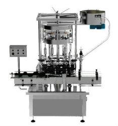 Het verzegelen van Plastic Eetbare Flessen die het Afdekken Machine sluiten