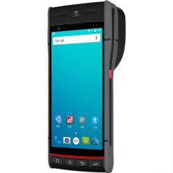 PDA com Android Builtin /Recepção Impressora Térmica de Impressora/Scanner de código de barras
