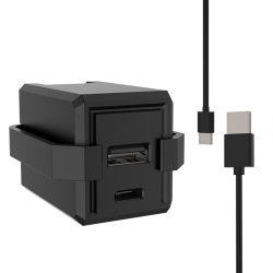 Cargador de pared cargador USB tipo C/cargador de batería cargador de viaje