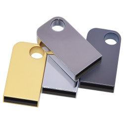 Il metallo d'argento dell'oro del USB Pendrives 2.0 Flash-Guida i bastoni Pendrive (di memoria del Flash-Bastone 32GB 64GB di Reale-Capienza 16GB marchio libero 10PCS)