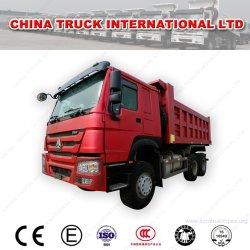 Camion Sinotruk HOWO dell'Etiopia 30 tonnellate gli autocarri con cassone ribaltabile brandnew ed utilizzati di 371 6X4 dell'autocarro a cassone