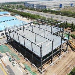 Низкая цена Китай Двух этажное стали структуры склада сборных складских легких стальных структуры