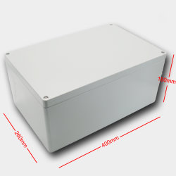 Anodisierter Batterie-wasserdichter Gehäuse-Spitzenaluminiumkasten