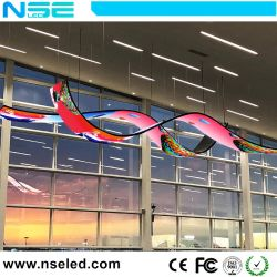 Nseled Indoor P4mm Module LED Flexible avec Shap ronde