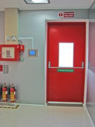 Som de segurança/isolamento térmico/Aço Inoxidável resistência ao calor da Porta da Saída de Emergência de metal /Porta à prova de segurança