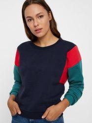 女性2019の新しい方法Colourblockingのスエットシャツ