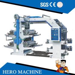 جهاز تحكم كمبيوتر Wenzhou Hero عالي السرعة 4 ألوان Flexo ماكينة بالنسبة إلى آلة الطباعة بكيس محبوك