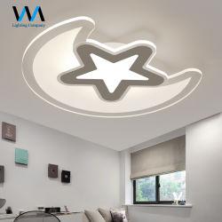 Licht der Dekoration-Stern-Mondschein-Eisen-Decken-LED für den Kind-Raum modern